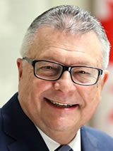 Picture of the Honourable Ralph Goodale, P.C., M.P. Minister of Public Safety and Emergency Preparedness