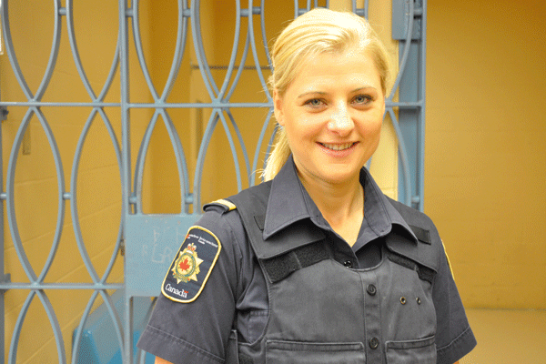 federal corrections officer